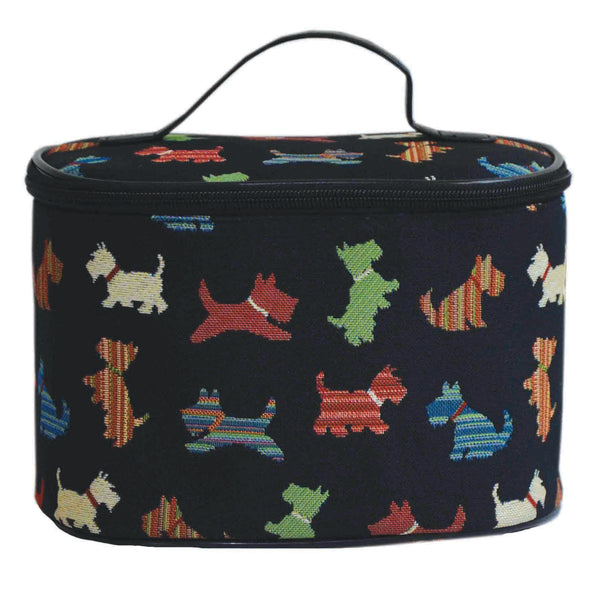 TOIL-SCOT | SCOTTIE DOG TOILETRY VANITY TRAVEL BAG - www.signareusa.com