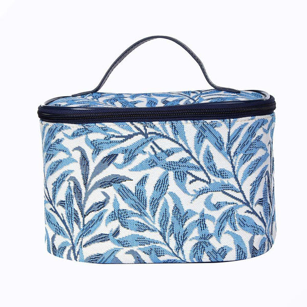 TOIL-WIOW | WILLIAM MORRIS WILLOW BOUGH TOILETRY VANITY TRAVEL BAG - www.signareusa.com