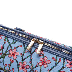 TRAV-BLOS | ALMOND BLOSSOM AND SWALLOW TRAVEL BAG WEEKEND GYM HOLDALL - www.signareusa.com