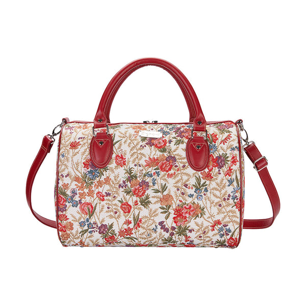 TRAV-FLMD | FLOWER MEADOW TRAVEL BAG WEEKEND GYM HOLDALL - www.signareusa.com