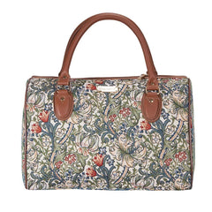 TRAV-GLILY | WILLIAM MORRIS GOLDEN LILY TRAVEL BAG WEEKEND GYM HOLDALL - www.signareusa.com