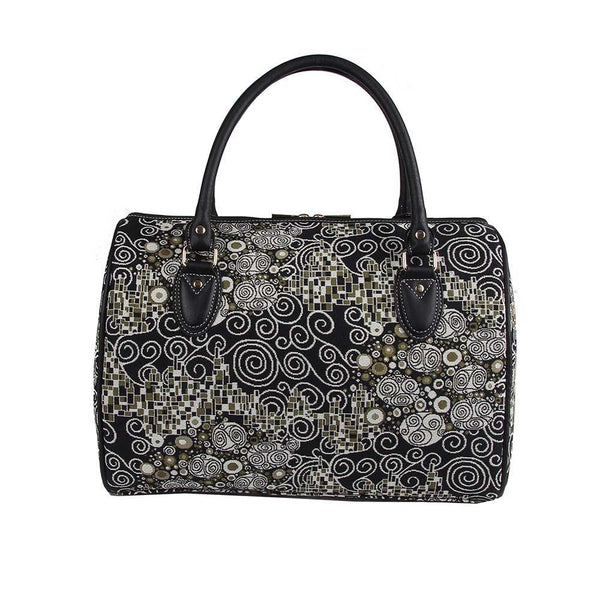 TRAV-KISS | GUSTAV KLIMT THE KISS TRAVEL BAG WEEKEND GYM HOLDALL - www.signareusa.com