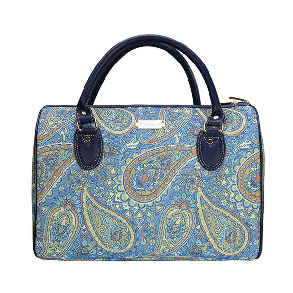 TRAV-PAIS | PAISLEY TRAVEL BAG WEEKEND GYM HOLDALL - www.signareusa.com