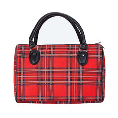 TRAV-RSTT | ROYAL STEWART TARTAN TRAVEL BAG WEEKEND GYM HOLDALL - www.signareusa.com