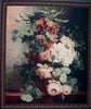 "WH-FLC | FLOWER CANVAS 43 X 54 "" INCH WALL HANGING TAPESTRY ART - www.signareusa.com"