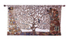 "WH-GK-TL-1 | GUSTAV KLIMT TREE OF LIFE WHOLE 54 X 32 "" INCH WALL HANGING TAPESTRY ART - www.signareusa.com"