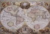 "WH-MAP-OLD | ANCIENT WORLD MAP OLD 55 X 38 "" INCH WALL HANGING TAPESTRY ART - www.signareusa.com"