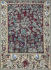 "WH-WM-TLRD-1 | WILLIAM MORRIS TREE OF LIFE RED 41 X 55 "" INCH WALL HANGING TAPESTRY ART - www.signareusa.com"