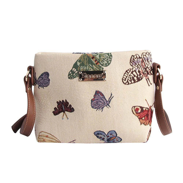 XB02-BUTT | BUTTERFLY CROSS BODY BAG PURSE HANDBAG - www.signareusa.com