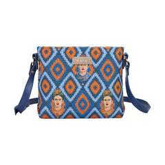 XB02-FKICON | FRIDA KAHLO ICON CROSS BODY BAG PURSE HANDBAG