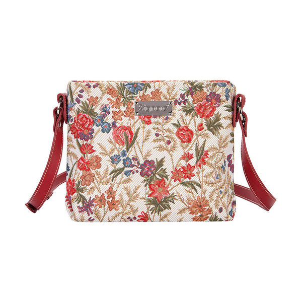 XB02-FLMD | FLOWER MEADOW CROSS BODY BAG PURSE HANDBAG - www.signareusa.com