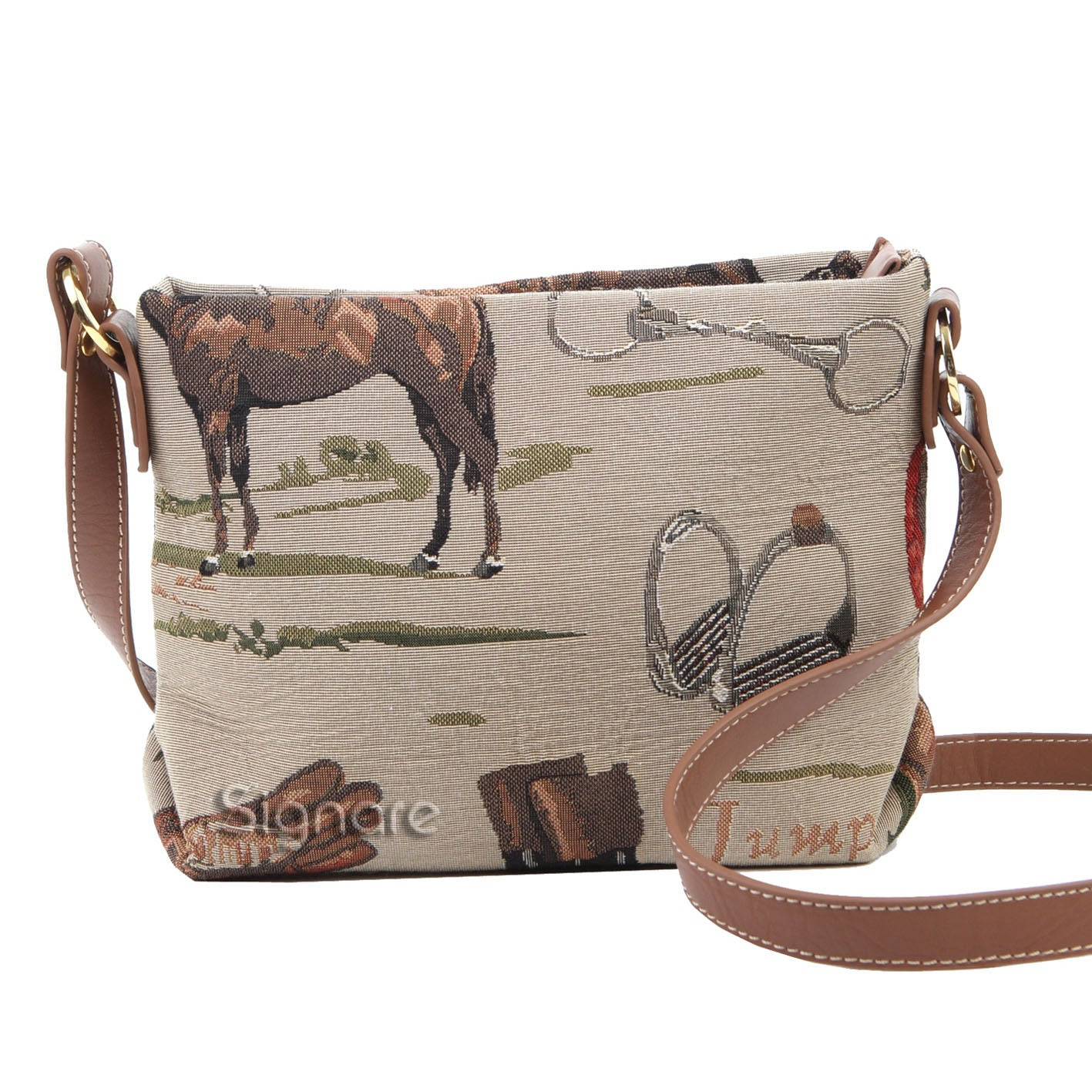 XB02-HOR | HORSE CROSS BODY BAG PURSE HANDBAG - www.signareusa.com