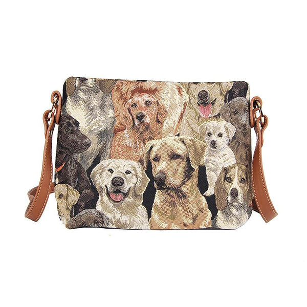 XB02-LAB | LABRADOR DOG CROSS BODY BAG PURSE HANDBAG - www.signareusa.com