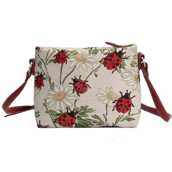 XB02-LDBD | LADYBUG CROSS BODY BAG PURSE HANDBAG - www.signareusa.com