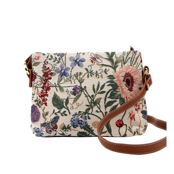 XB02-MGD | MORNING GARDEN CROSS BODY BAG PURSE HANDBAG - www.signareusa.com