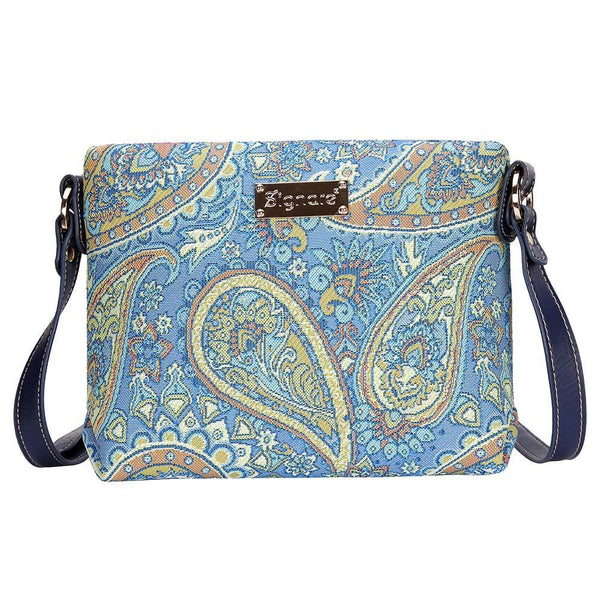 XB02-PAIS | PAISLEY CROSS BODY BAG PURSE HANDBAG - www.signareusa.com