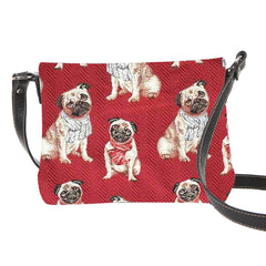 XB02-PUG | PUG CROSS BODY BAG PURSE HANDBAG - www.signareusa.com