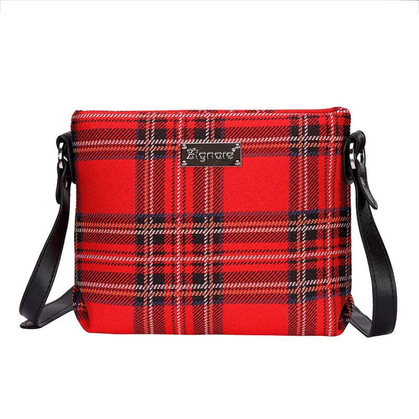 XB02-RSTT | ROYAL STEWART TARTAN CROSS BODY BAG PURSE HANDBAG - www.signareusa.com