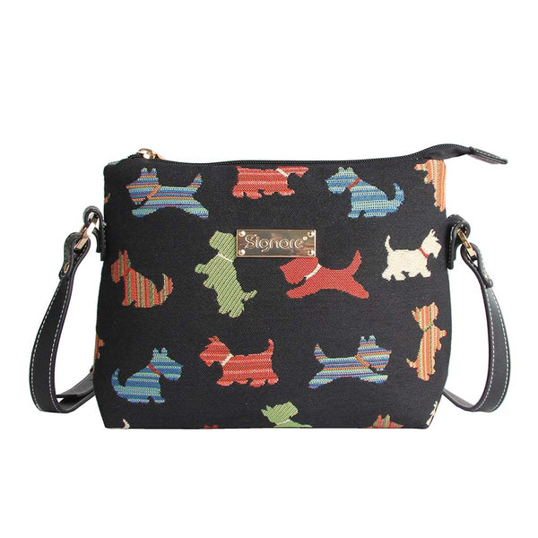 XB02-SCOT | SCOTTIE DOG CROSS BODY BAG PURSE HANDBAG - www.signareusa.com