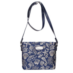 XB02-SHELL | SEA SHELL CROSS BODY BAG PURSE HANDBAG - www.signareusa.com