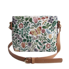XB02-SPFL | CFA VOYSEY SPRING FLOWER CROSS BODY BAG PURSE HANDBAG - www.signareusa.com