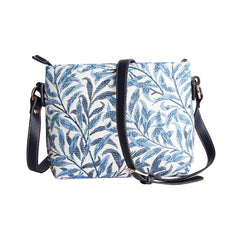 XB02-WIOW | WILLIAM MORRIS WILLOW BOUGH CROSS BODY BAG PURSE HANDBAG - www.signareusa.com