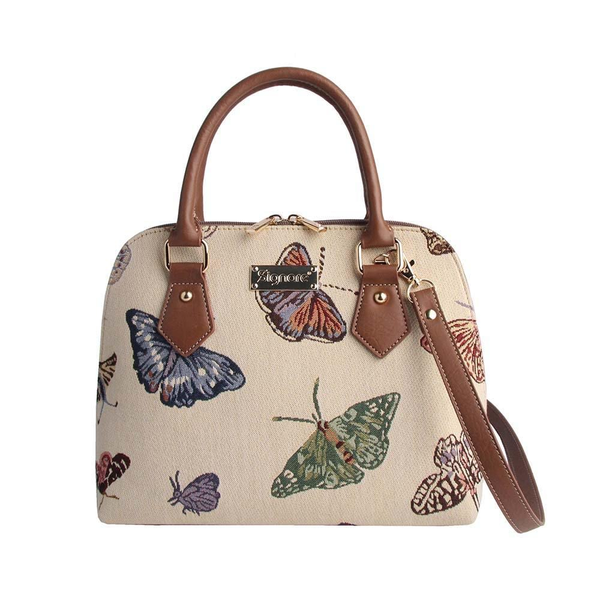 CONV-BUTT | Butterfly Convertible Top Handle Purse Handbag - www.signareusa.com