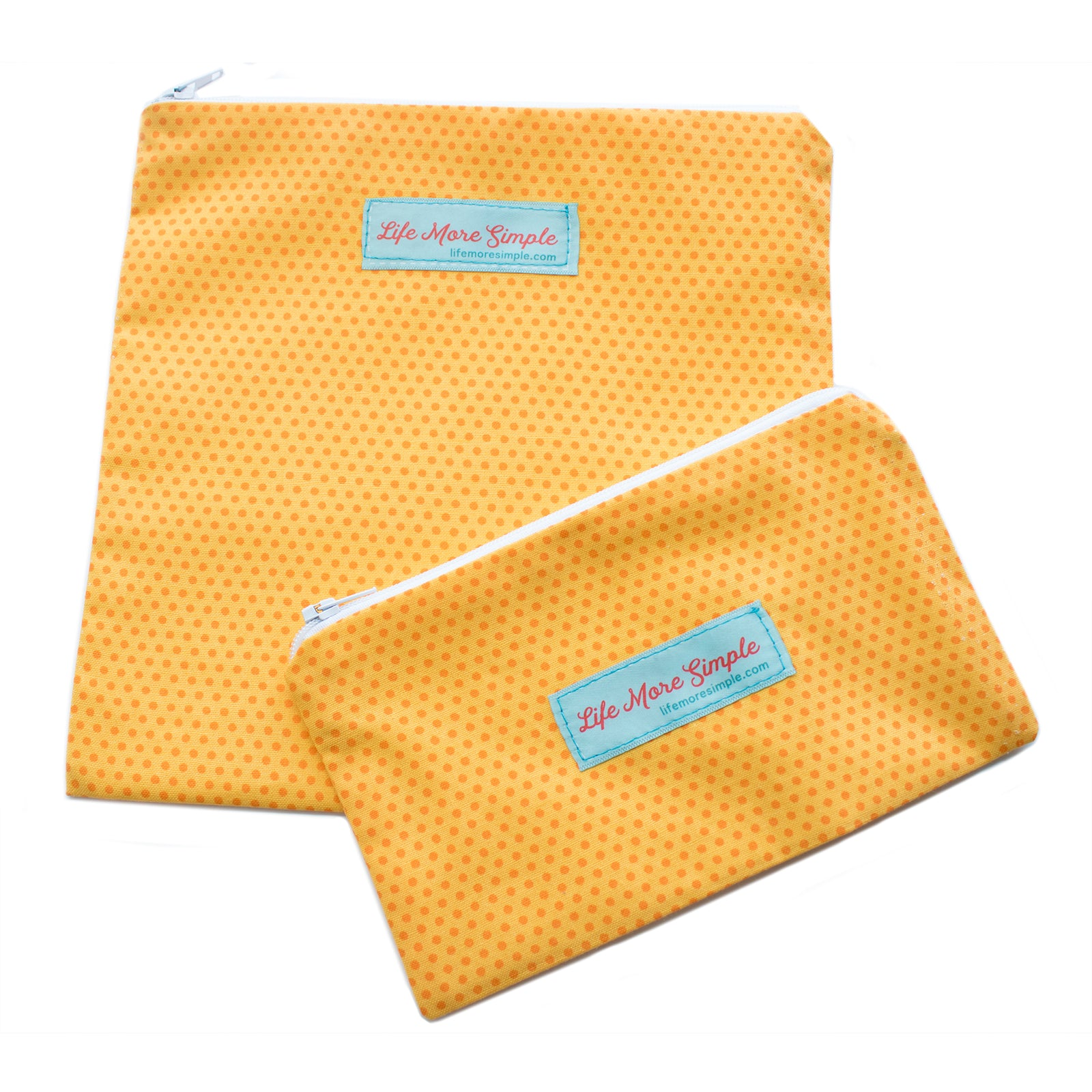 Reusable Snack & Sandwich Bag Set