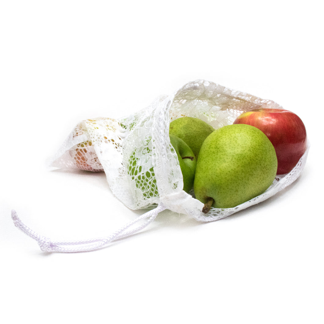 Reusable Lace Produce Bag (medium)
