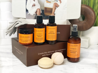 Discover Your New Skincare Routine with the Nzuri Body Essentials Spa Box