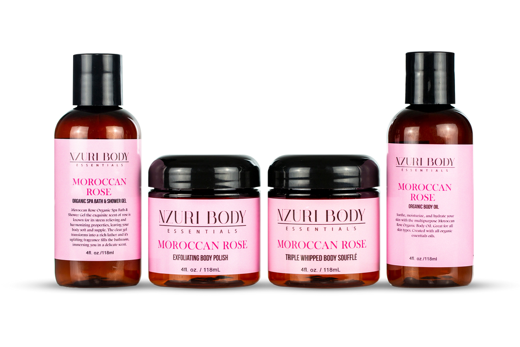 Moroccan Rose Travel Set