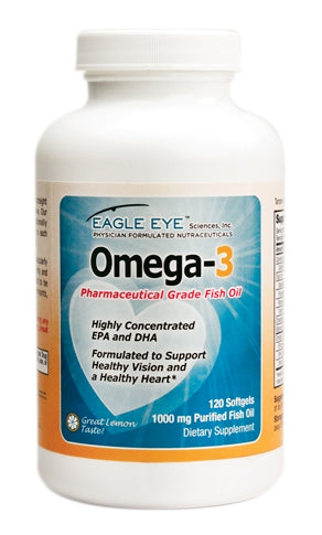 Omega-3 Fish Oil - 2 Month Supply - Pharmaceutical Grade