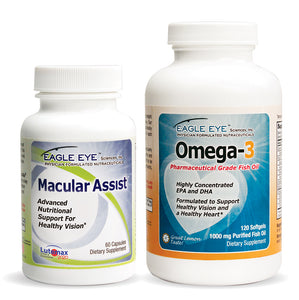 Macular Assist & Omega-3 Combo- 2 Month Supply