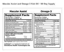 Load image into Gallery viewer, Macular Assist & Omega-3 Combo- 2 Month Supply
