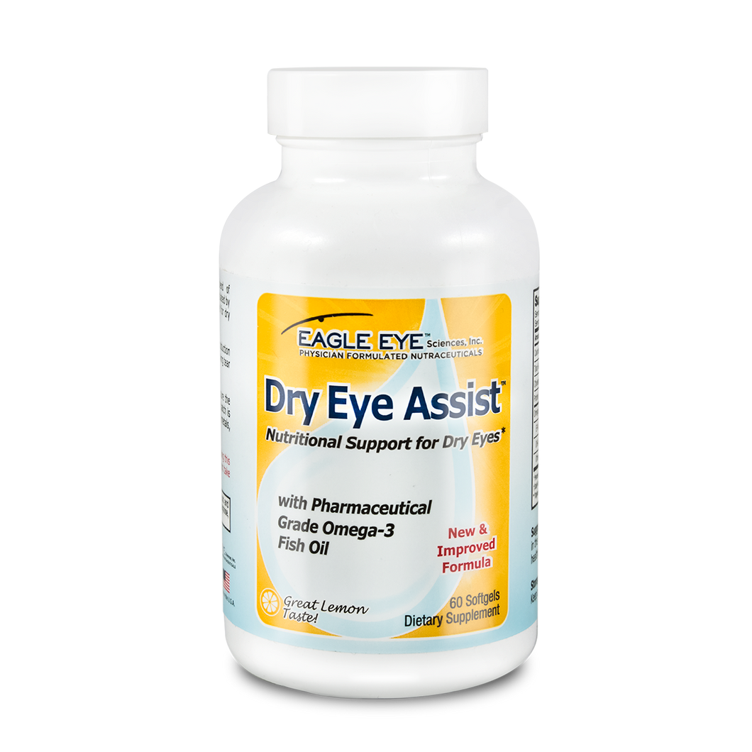 Dry Eye Assist- 1 Month Supply - Pharmaceutical Grade
