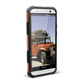 rugged HTC one M8 case by UAG
