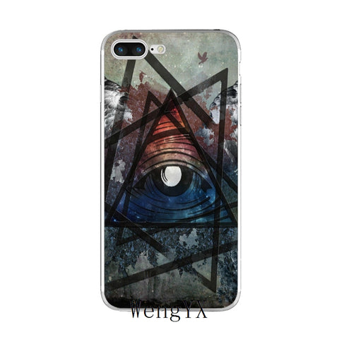 coque iphone art illuminati