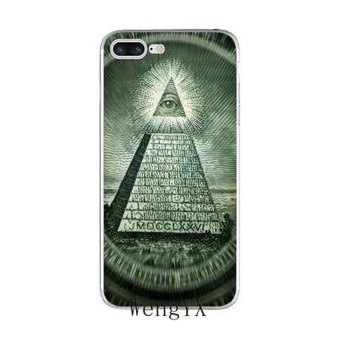 coque iphone illuminati un dollar
