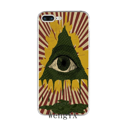 coque iphone illuminati reptilien