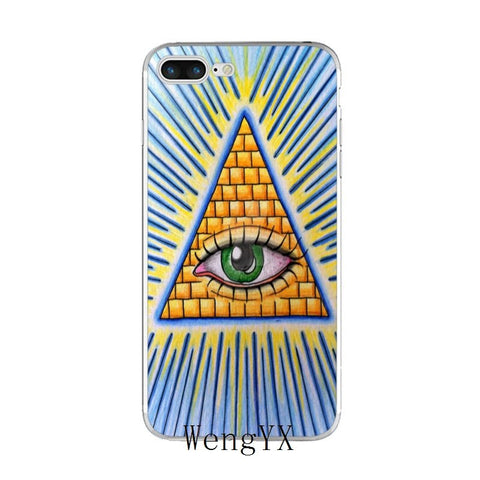 coque iphone illuminati graffiti