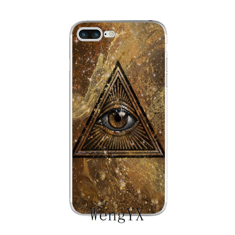 coque iphone illuminati vintage