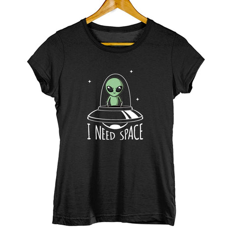 tshirt femme ovni soucoupe volante extraterrestre