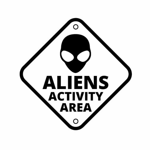 sticker ovni alien activity