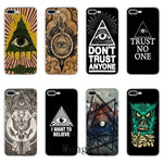 Coque iPhone <br> Illuminati Don't Trust Anyone