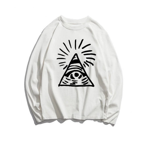 Sweat shirt illuminati oeil providence
