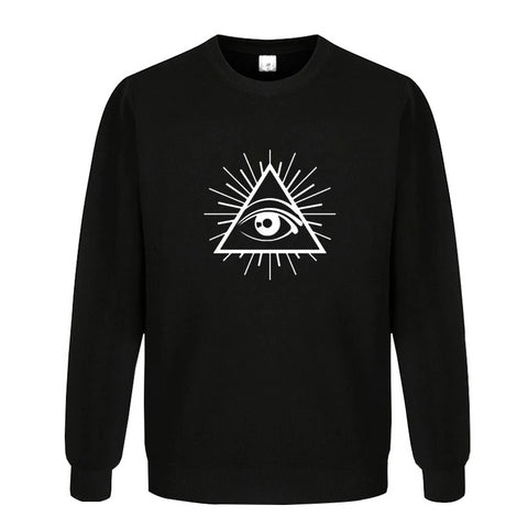 sweat shirt illuminati eye