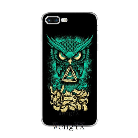 coque iphone illuminati hiboulati