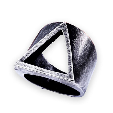 Bague Illuminati Triangle