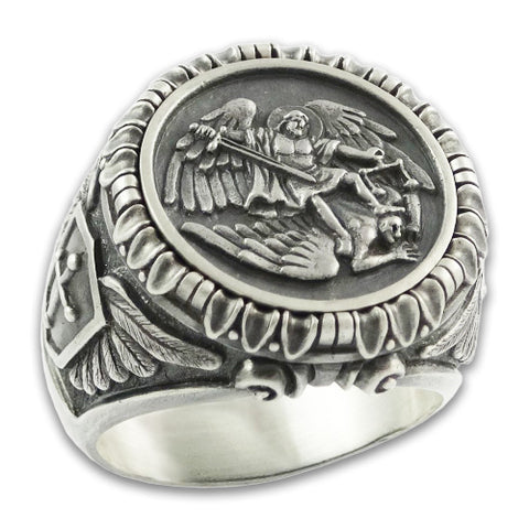 bague saint michel archange