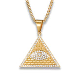 collier illuminati homme